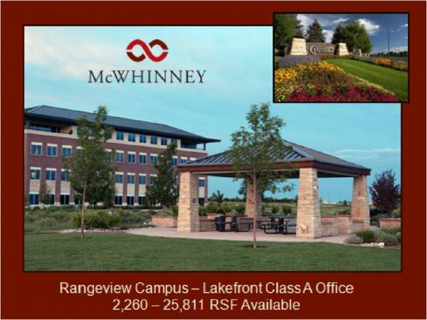 McWhinney - Lakefront Office A